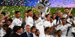 شرط بندی های رئال مادرید در فصل 2020/2021
