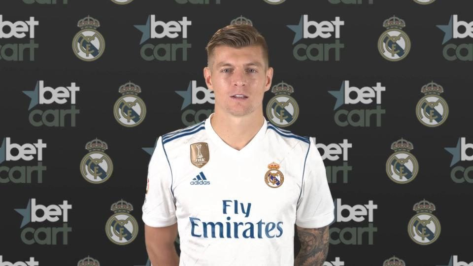 سایت بت کارت betcart اسپانسر رئال مادرید